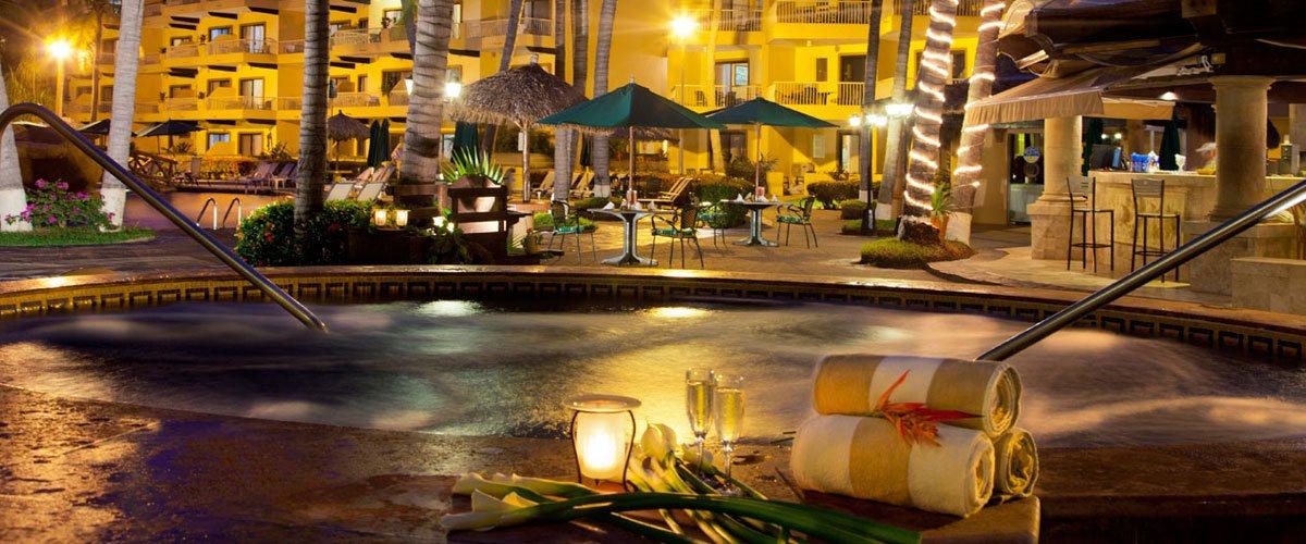 Villa del Palmar Puerto Vallarta Hot tub