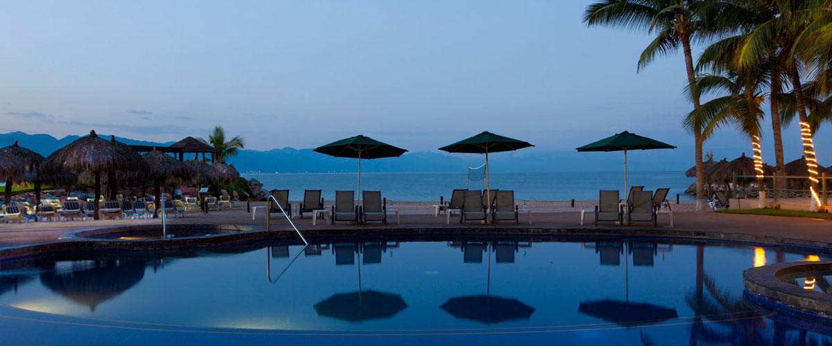 Villa del Palmar Puerto Vallarta Pool & Ocean View