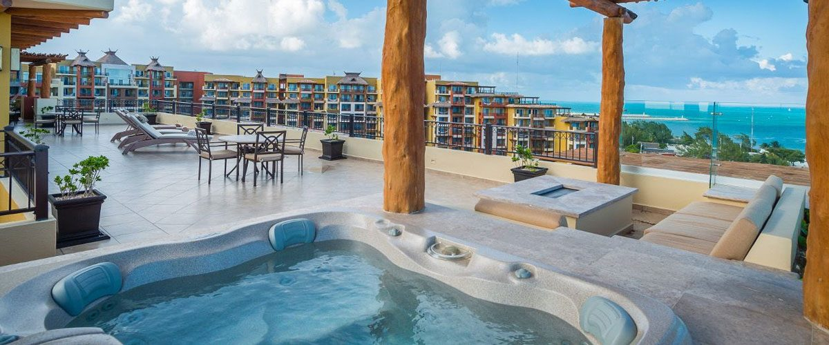 Villa del Palmar Cancun Hot Tub