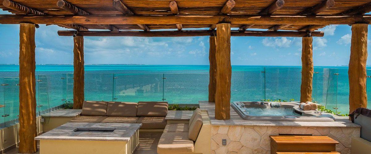 Villa del Palmar Cancun Jacuzzy, Terrace & Ocean View