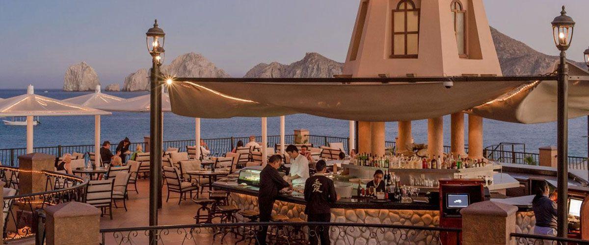 Villa del Arco Restaurant Ocean View