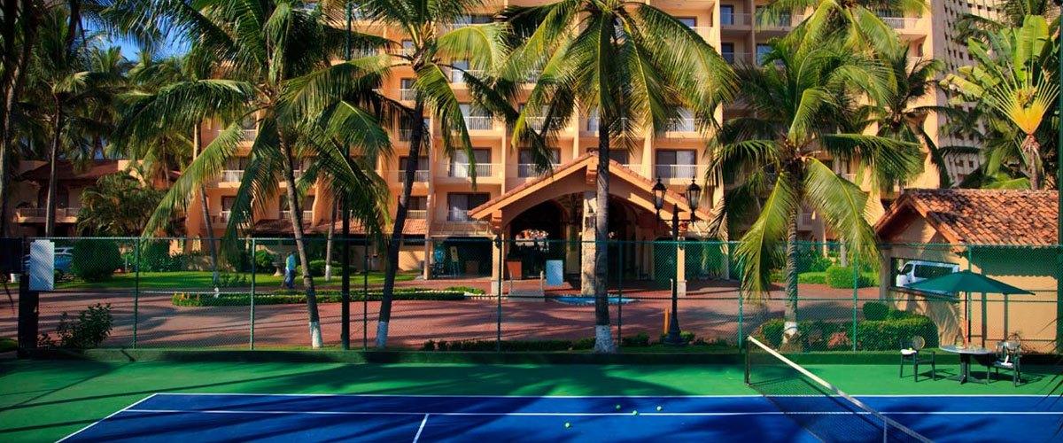 Villa del Palmar Puerto Vallarta Tenis Field