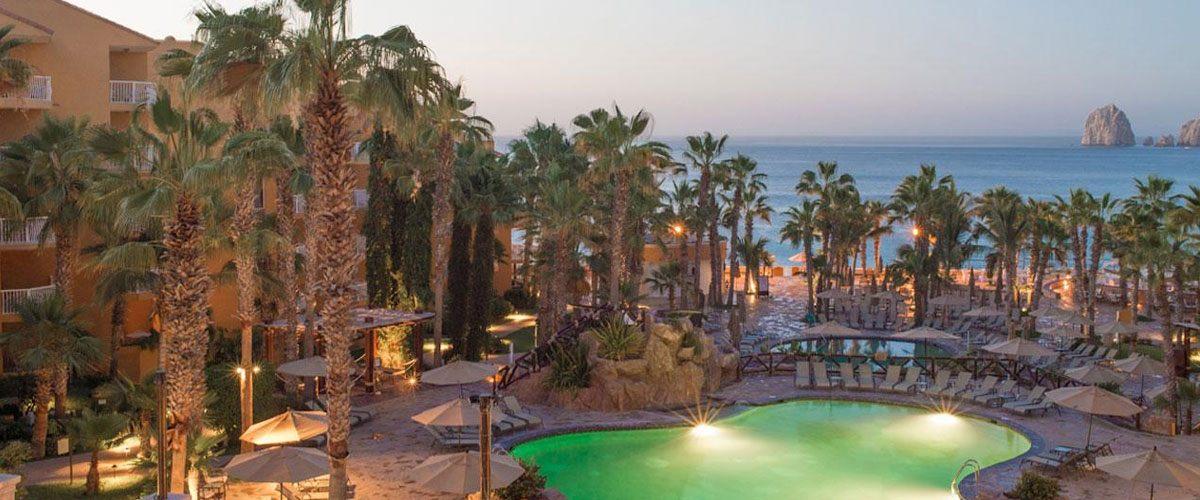 Villa del Palmar Cabo pool & Ocean view