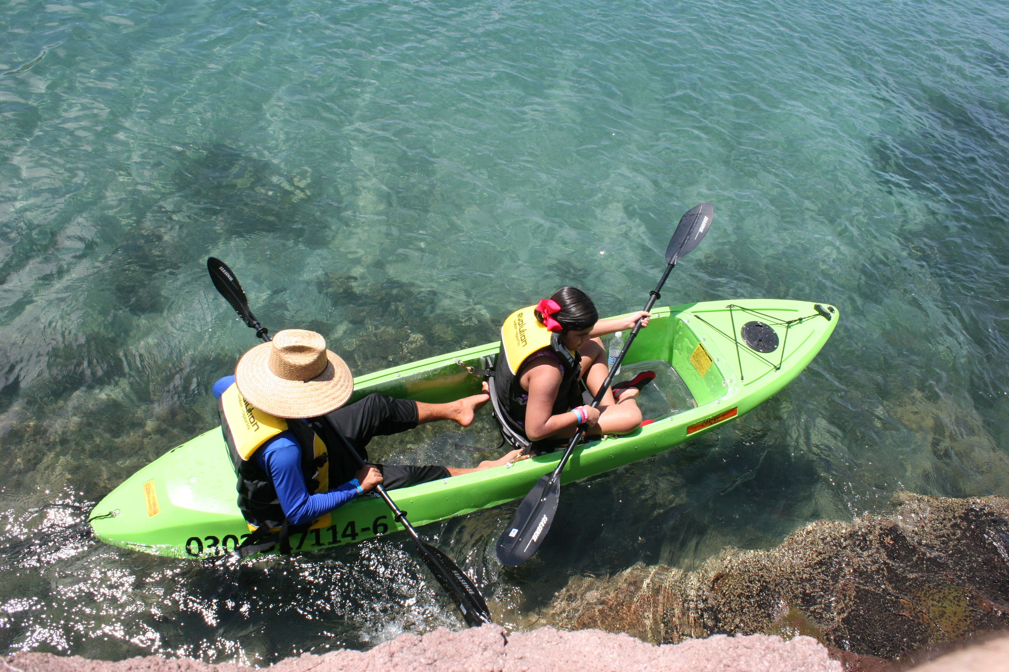 Villa del Palmar at the Islands of Loreto's glass bottomed kayaks