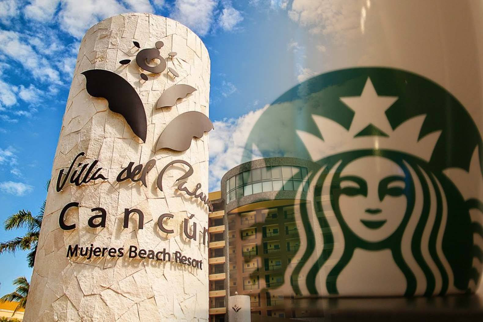 Starbucks Coffee at Villa del Palmar Cancun