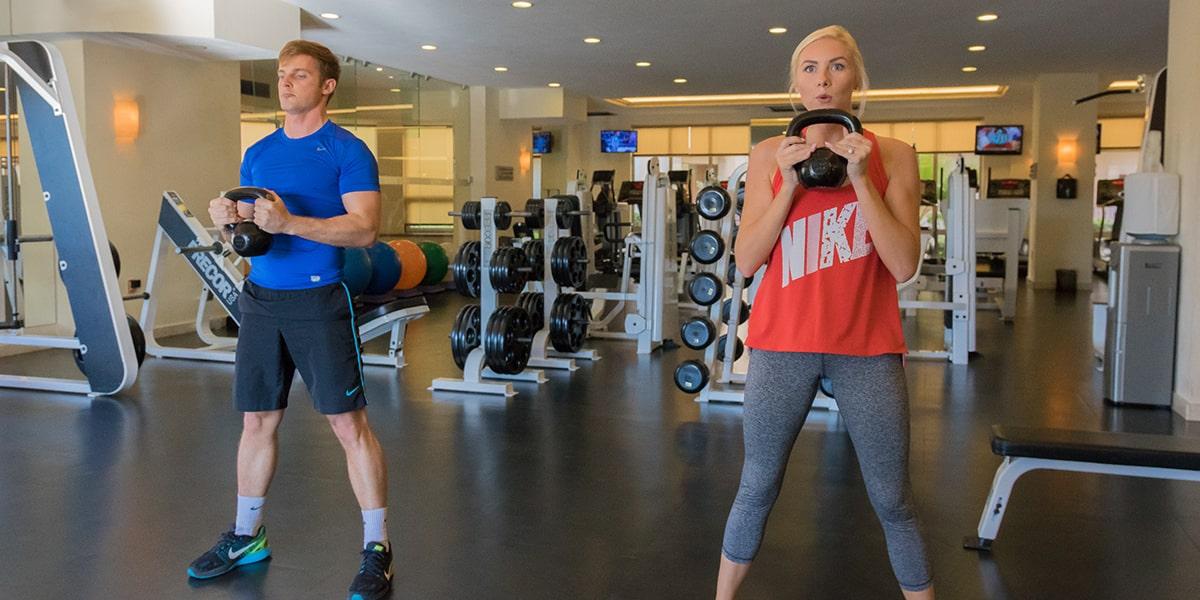 Equipped Gym in Villa del Arco