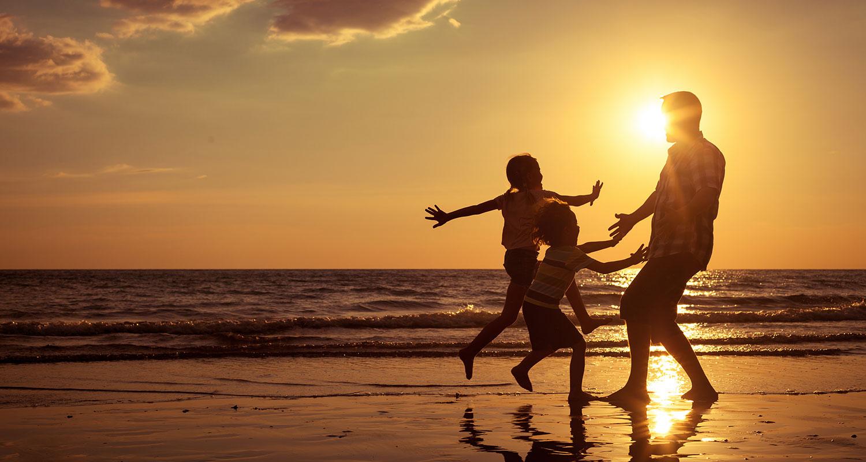 Beach family vacations